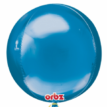 "Blue Orbz Balloon (15"") 3pcs"